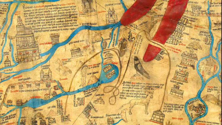 Mapamundis Herefors Ebstorf atlas visuales del Medievo
