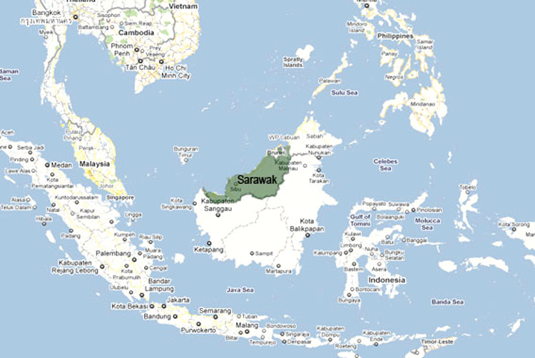 James Brooke raja blanco de Sarawak
