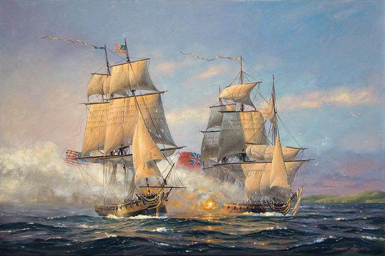 John Paul Jones marino estadounidense combatio britanicos sirvio Armada imperial Rusa