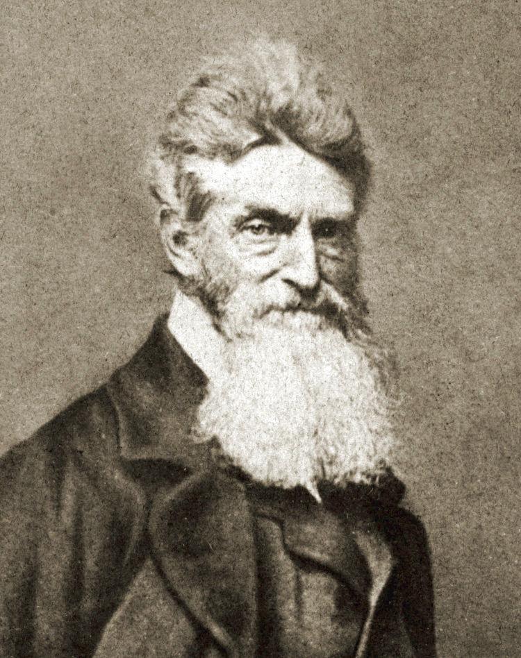 Retrato fotográfico de John Brown