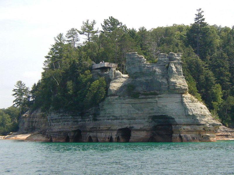Las maravillas naturales de Picture Rocks National Lakeshore