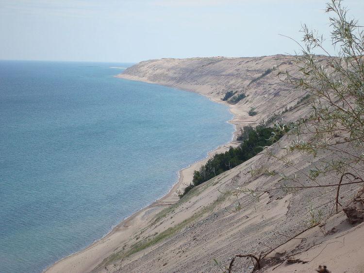 Las enormes dunas de Grand Sable