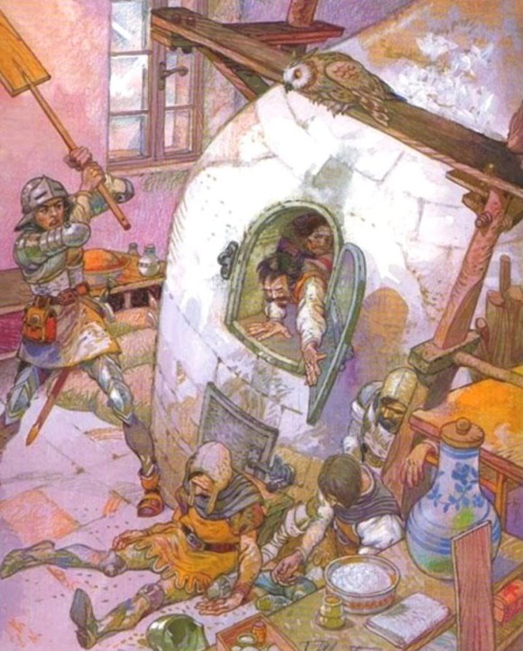 Panadera portuguesa mataba castellanos tras batalla Aljubarrota