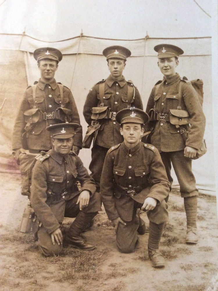 Wilfred Whitfield, el modesto héroe que ayudó a los soldados mutilados del Somme