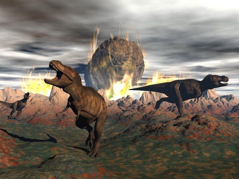 Un nuevo estudio sugiere que la extinción de los dinosaurios fue causada por el incendio de un yacimiento de petróleo