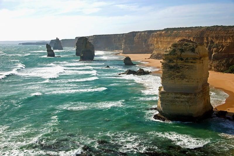 Los Doce Apóstoles de piedra australianos