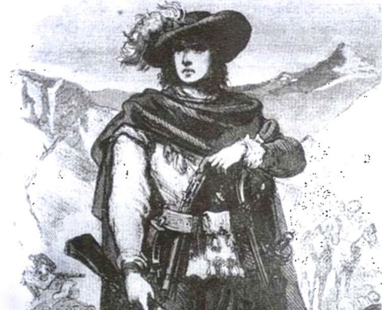 Juan Serrallonga famoso bandolero catalan