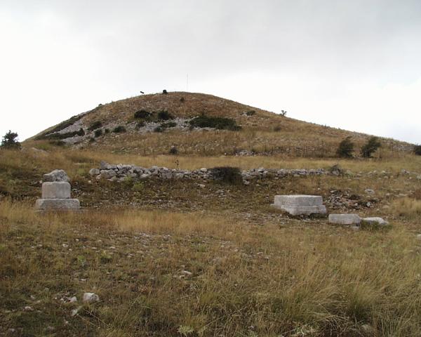 Altar de Zeus en el Monte Liceo