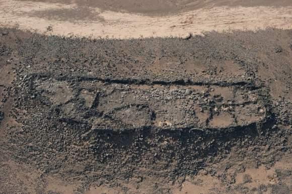 Vista aérea de Khirbet al-Jabariya