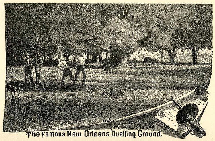 José Llulla, el duelista español afincado en Nueva Orleáns al que nadie pudo derrotar nunca