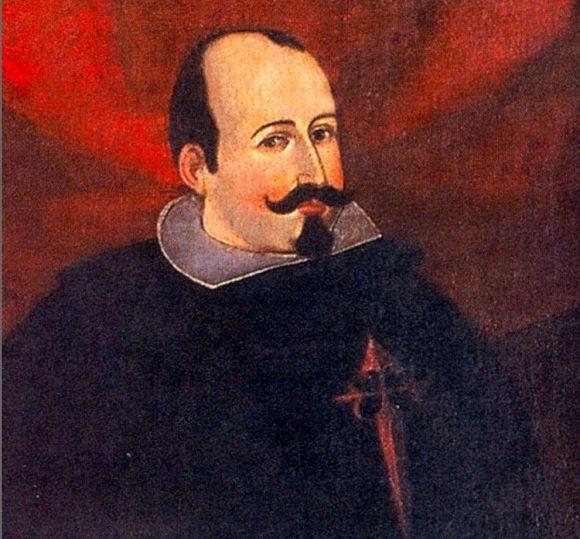 El virrey  Luis Jerónimo Fernández de Cabrera y Bobadilla