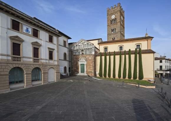 Iglesia de Santiago en Altopascio, fundada por la orden / foto Shutterstock