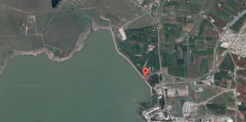 La presa de Homs en la actualidad / Google Maps