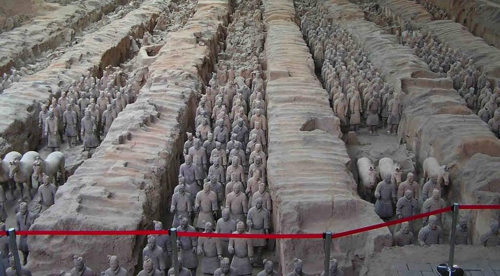 Un nuevo estudio explica la conservación de las armas de bronce de los Guerreros de Terracota