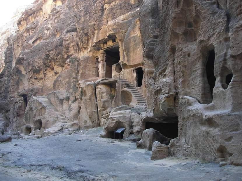 Pequeña Petra / foto Odilia en Wikimedia Commons