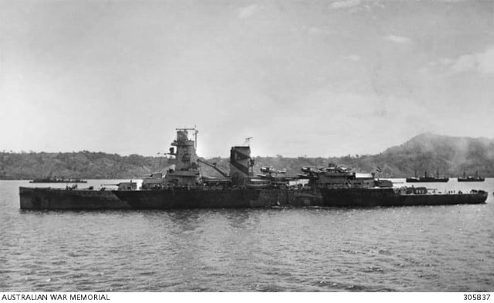 Varios barcos hundidos durante la Batalla de Java en 1942 han desaparecido del fondo del mar