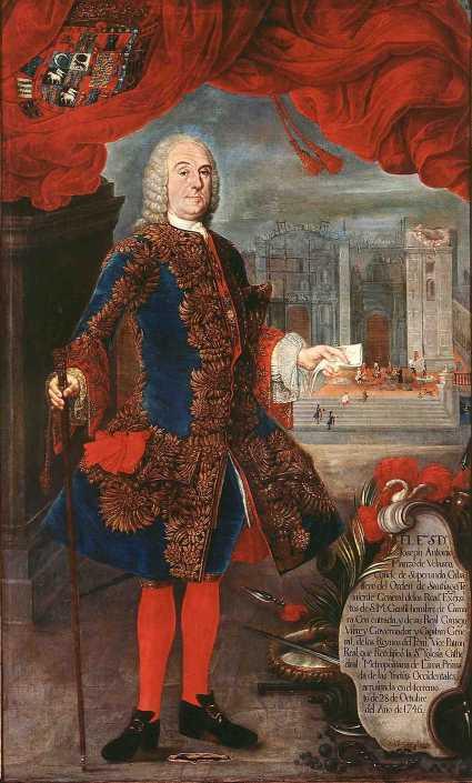 El virrey Manso de Velasco(Foto: dominio público en Wikimedia Commons