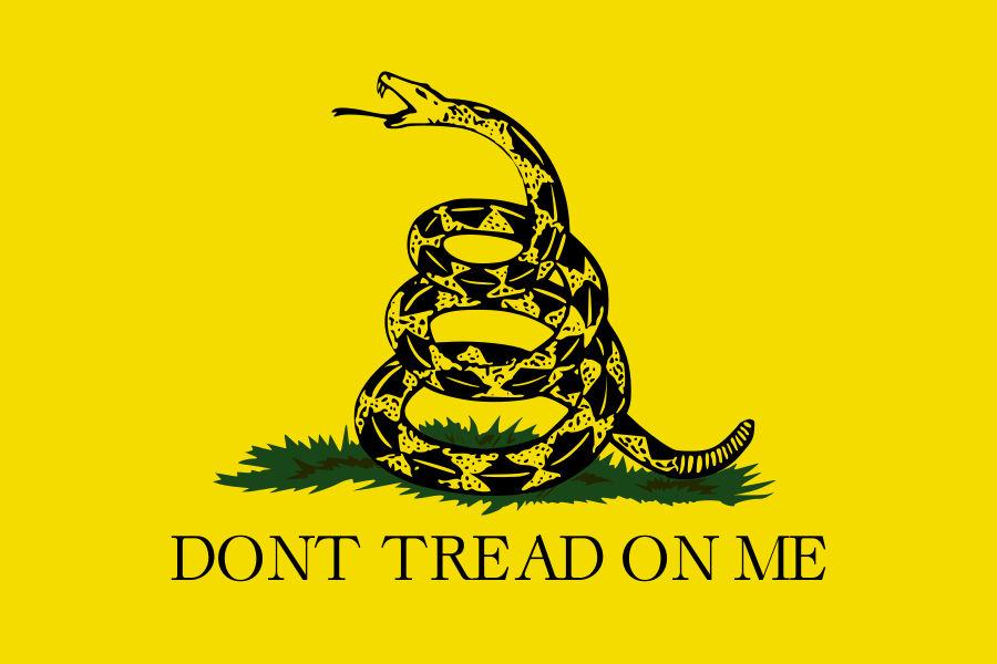 La Bandera de Gadsden, primer icono de la Independencia de Estados Unidos