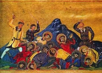 Búlgaros contra bizantinos/ Imagen: Boundless