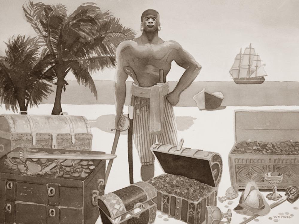 Los olvidados piratas de raza negra, dónde operaban y cuáles eran sus nombres