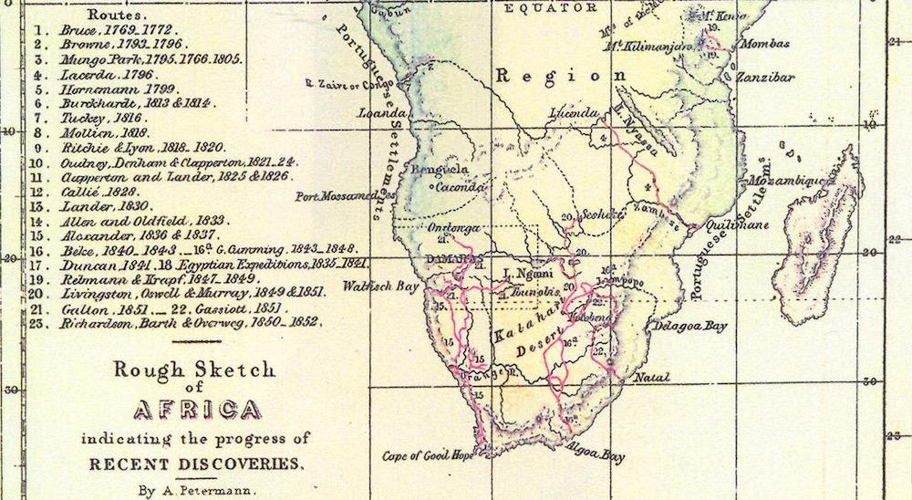 La historia del portugués que protagonizó la primera expedición científica a través de África
