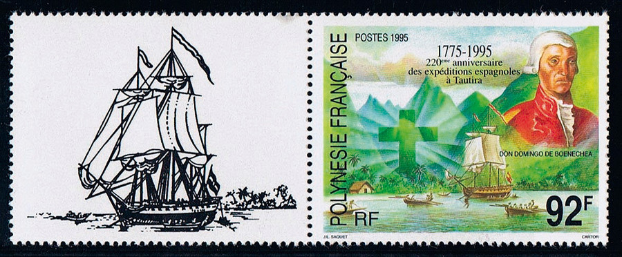 Domingo de Bonechea, el marino que incorporó Tahití a la Corona española
