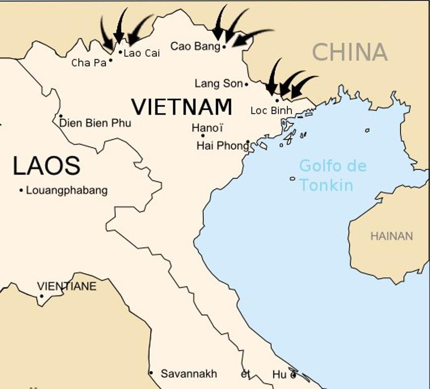 Ayuda militar extranjera: Única solución para evitar que continué genocidio narcocomunista.  - Página 8 Kampuchea-China-Vietnam