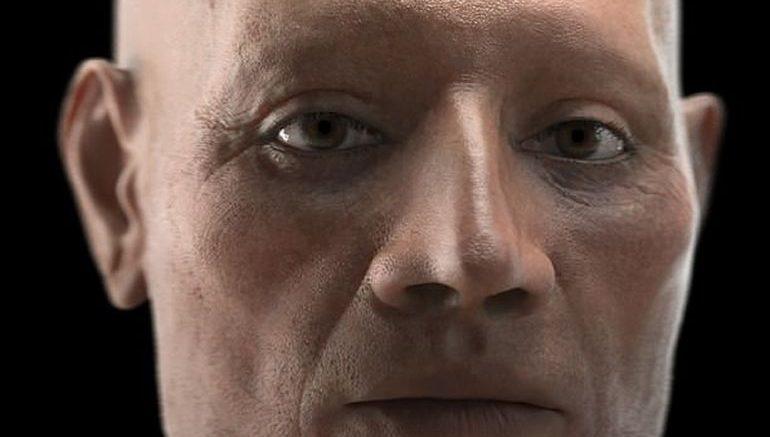 La reconstrucción del rostro de un dignatario egipcio de la XVIII dinastía