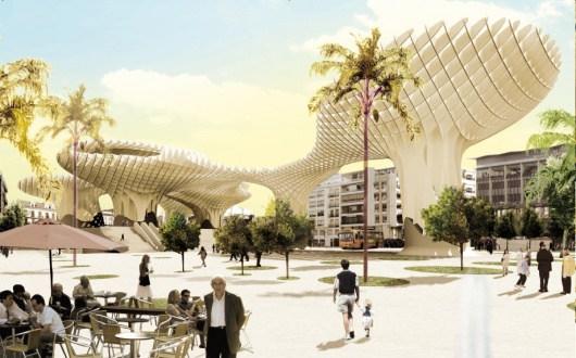 Metrosol Parasol, imagen futurista para Sevilla