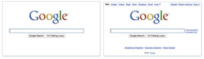 Google desaparece
