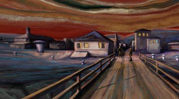 El Grito de Munch en video