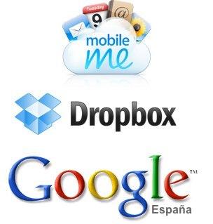 Diferencias entre Google Docs, Dropbox y MobileMe
