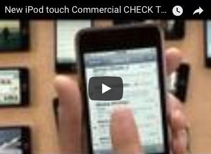 El nuevo anuncio del iPod Touch