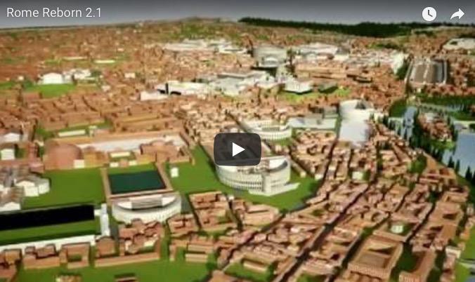 Impresionante reproducción digital de la antigua Roma