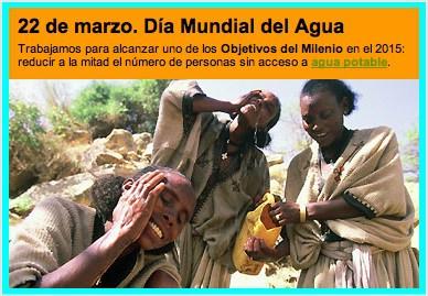 Día Mundial del Agua: 22 de marzo