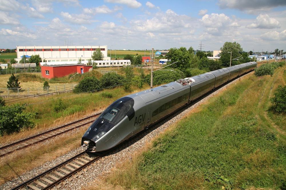 El doble circuito ferroviario de Velim, donde se prueban los trenes europeos
