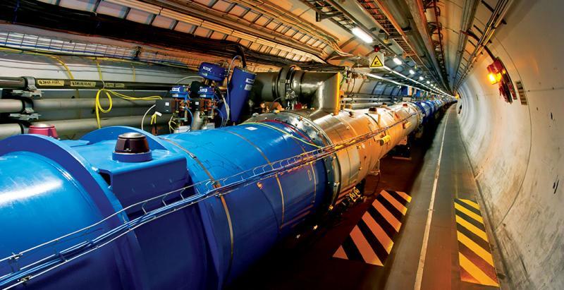 Explosión en el Gran Colisionador de Hadrones