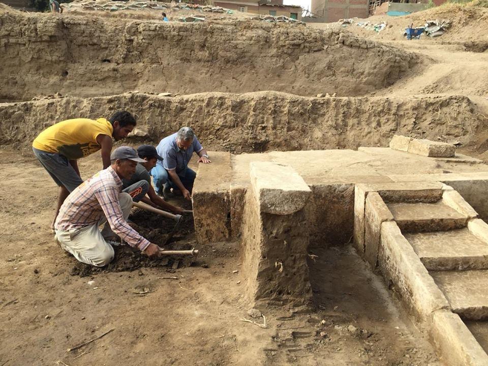 Resultado de imagen de Anuncian el descubrimiento de una estructura desde la que Ramsés II presenciaba las celebraciones