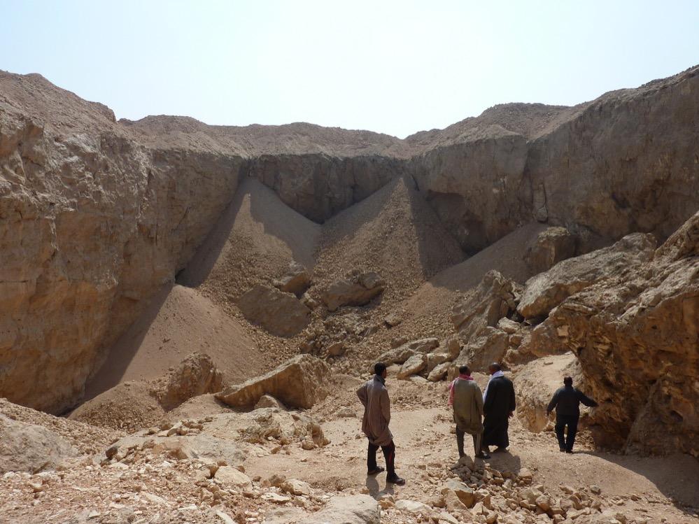 Descubren el sistema empleado por los antiguos egipcios para transportar grandes bloques de piedra