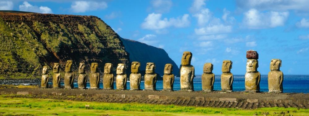 Un estudio sugiere que los antiguos habitantes de Rapa Nui construían sus monumentos junto a fuentes de agua dulce