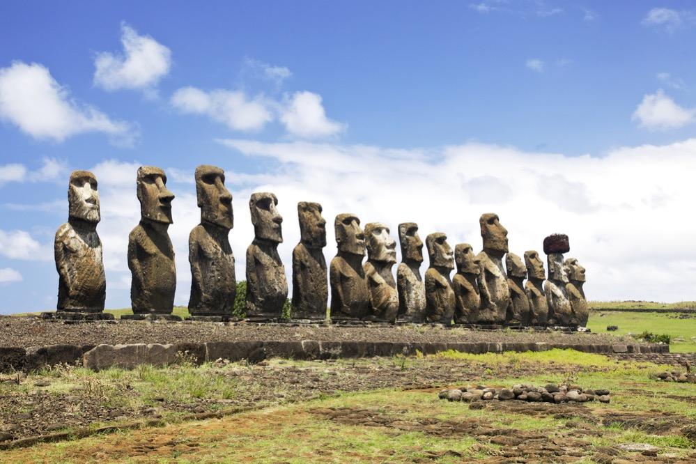 Estudio reveló el misterio de la ubicación de los moais
