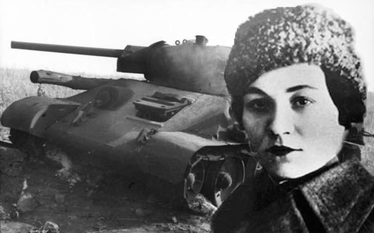 María Oktiábrskaya, la soviética que pagó la fabricación de un tanque y lo condujo personalmente para vengar la muerte de su marido