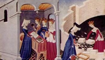 Ilustración de Le Livre de la cité des dames