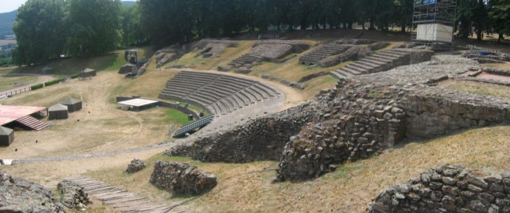 Un estudio sugiere que los romanos construían los cimientos de sus teatros según un patrón antisísmico