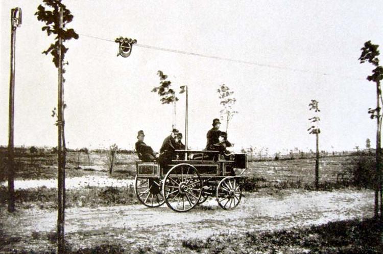 Elektromote, la historia del primer trolebús, inventado por el fundador de Siemens