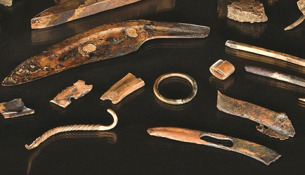 Encuentran en Alemania el equipamiento de un guerrero de la Edad del Bronce