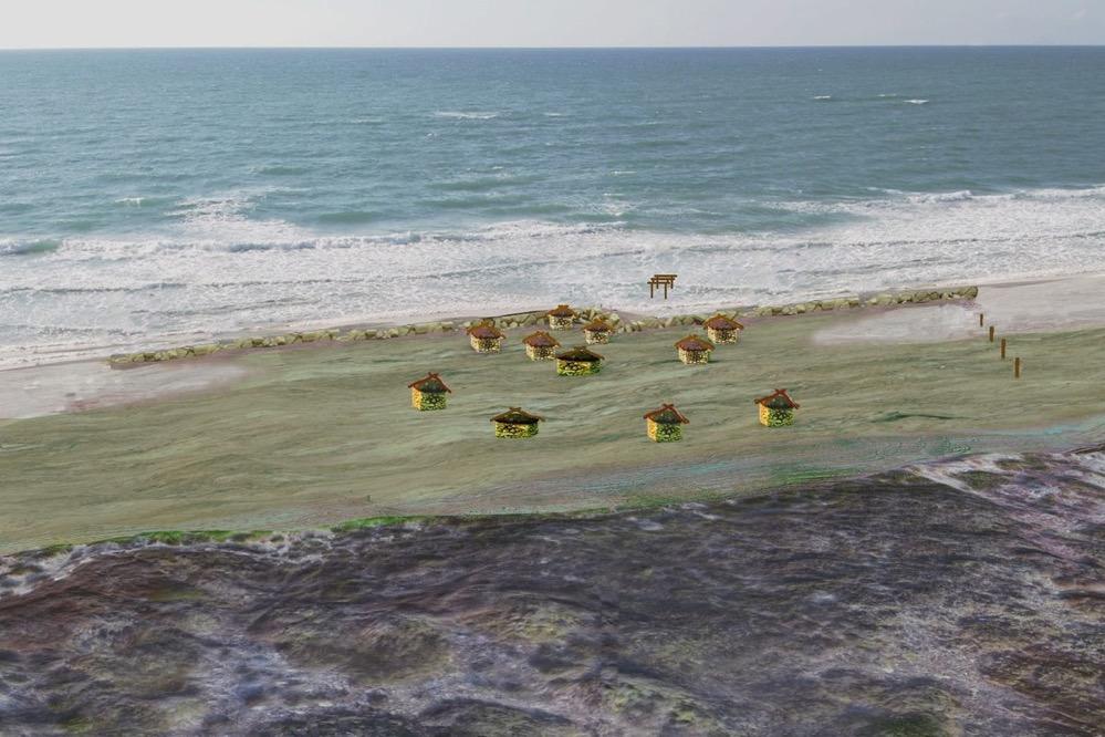 Descubren el sistema de defensa costera más antiguo conocido del mundo en Israel