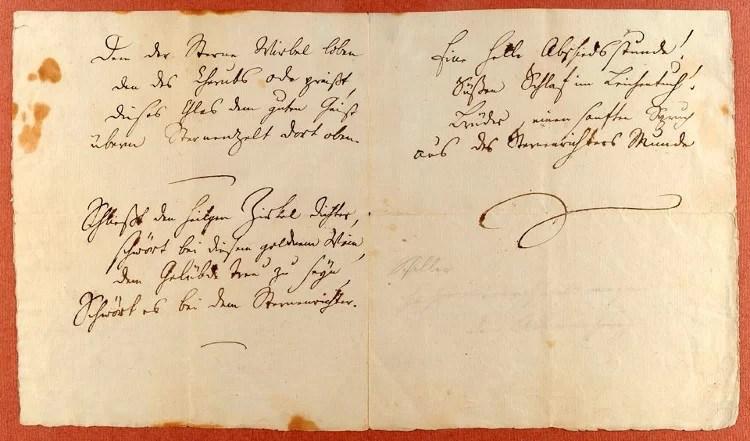 Oda a la Alegría, el poema de Schiller que inmortalizó Beethoven en su Novena sinfonía