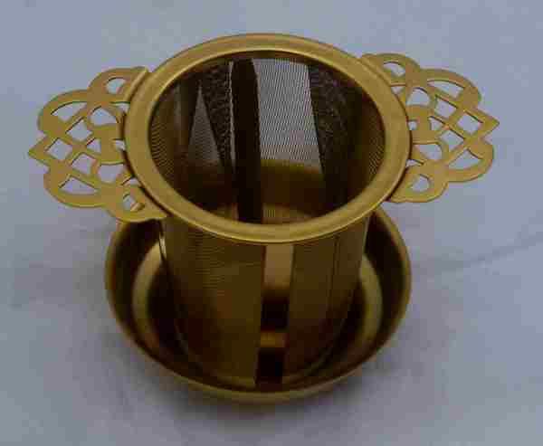 filtre a the dore inox treilli permanent