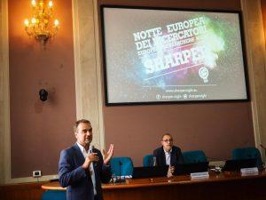 Conferenza Notti ricercatori - Sharper Leonardo Alfonsi